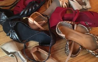 Susan Fekety's dancing shoes