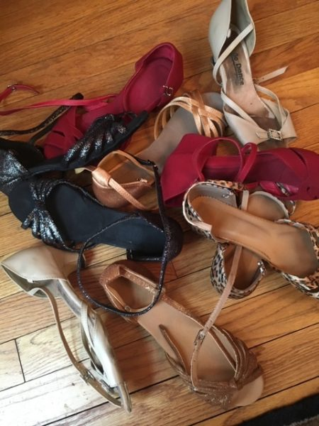 Susan Fekety's dancing shoes