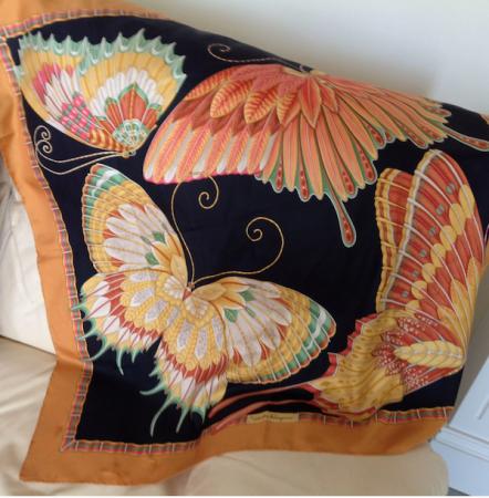 La Farfalla scarf