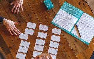 Card sort work life balance
