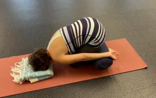 Martha Williams Gentle Yoga posture